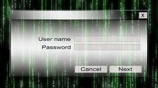 Passwort Matrix