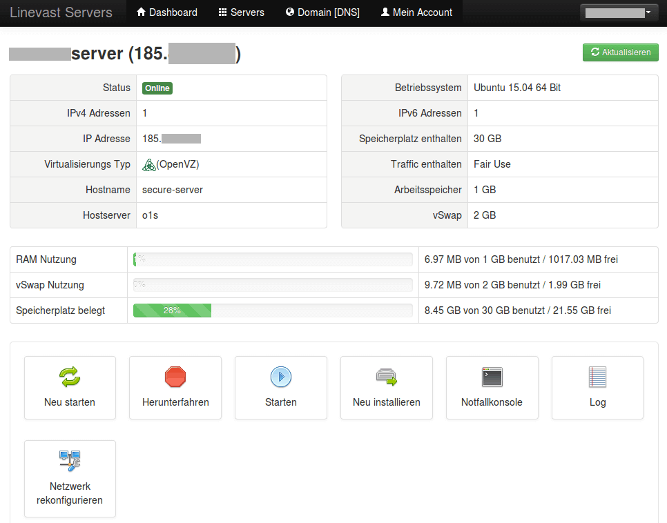 Linevast_Server-Administration-Tool